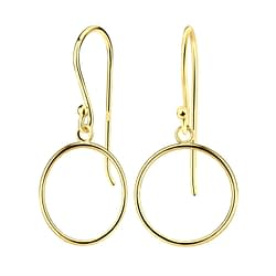 Wholesale Sterling Silver Circle Earrings - JD7798