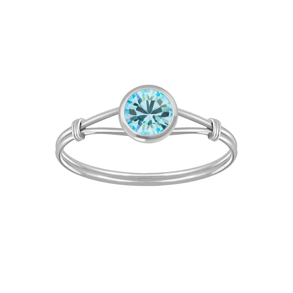 Wholesale Sterling Silver Handmade Solitaire Ring - JD3455