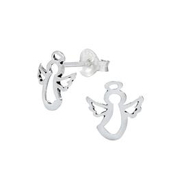 Wholesale Sterling Silver Angel Ear Studs - JD1021