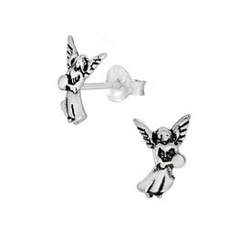 Wholesale Sterling Silver Angel Ear Studs - JD1075