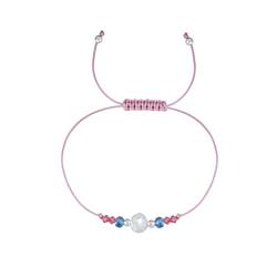 Wholesale Sterling Silver Beaded Friendship Bracelet - JD1769