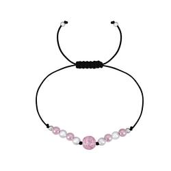 Wholesale Sterling Silver Beaded Friendship Bracelet - JD1784