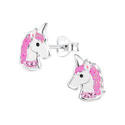 Wholesale Sterling Silver Unicorn Ear Studs - JD2076