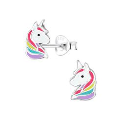 Wholesale Sterling Silver Unicorn Pendant - JD5663