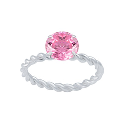 Wholesale Sterling Silver Solitaire Ring - JD2653