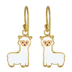 Wholesale Sterling Silver Alpaca Earrings - JD3016