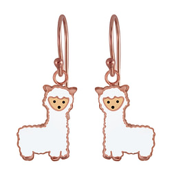 Wholesale Sterling Silver Alpaca Earrings - JD3017