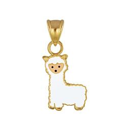 Wholesale Sterling Silver Alpaca Pendant - JD3020