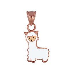 Wholesale Sterling Silver Alpaca Pendant - JD3021