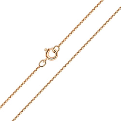 Wholesale 40cm Sterling Silver Box Chain - JD3642