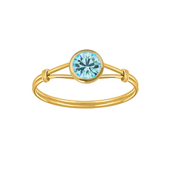 Wholesale Sterling Silver Handmade Solitaire Ring - JD3458