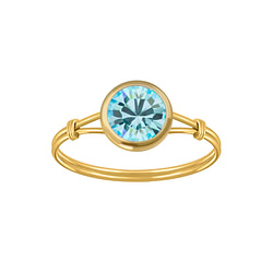 Wholesale Sterling Silver Handmade Solitaire Ring - JD3467