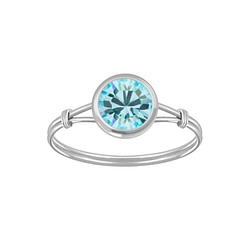 Wholesale Sterling Silver Handmade Solitaire Ring - JD3464
