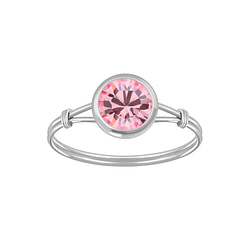 Wholesale Sterling Silver Handmade Solitaire Ring - JD3463