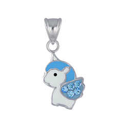 Wholesale Sterling Silver Unicorn Pendant - JD4204