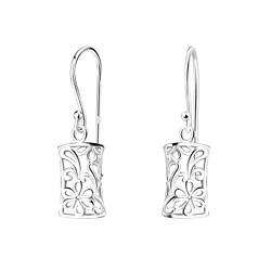 Wholesale Sterling Silver Flower Earrings - JD5175