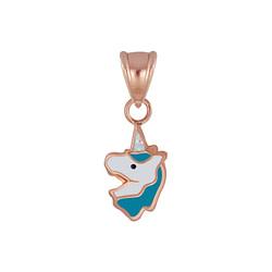 Wholesale Sterling Silver Unicorn Pendant - JD4898