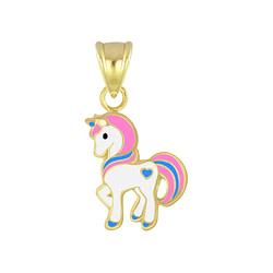 Wholesale Sterling Silver Unicorn Pendant - JD5102