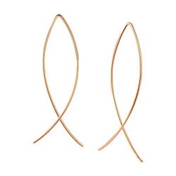 Wholesale Sterling Silver Wire Earrings - JD5323