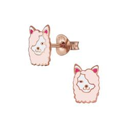 Wholesale Sterling Silver Llama Ear Studs - JD5827