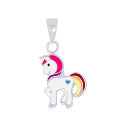 Wholesale Sterling Silver Unicorn Pendant - JD5564