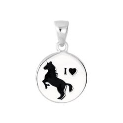Wholesale Sterling Silver Horse Pendant - JD6192