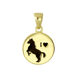 Wholesale Sterling Silver Horse Pendant - JD5795