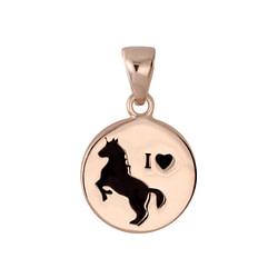 Wholesale Sterling Silver Horse Pendant - JD5799