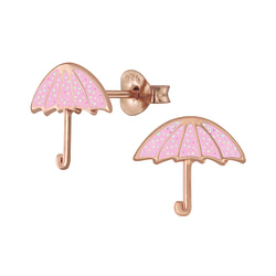 Wholesale Sterling Silver Umbrella Ear Studs - JD6127