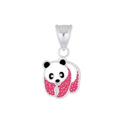 Wholesale Sterling Silver Panda Pendant - JD6359