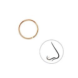 Wholesale 10mm Plain Nose Ring - JD7429
