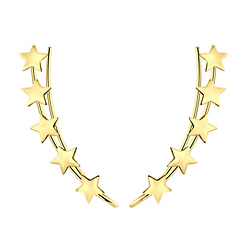 Wholesale Sterling Silver Star Ear Climber - JD7983