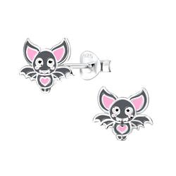 Wholesale Sterling Silver Bat Ear Studs - JD8290