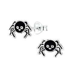 Wholesale Sterling Silver Spider Ear Studs - JD8293