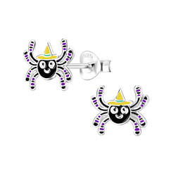Wholesale Sterling Silver Spider Ear Studs - JD8295