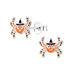Wholesale Sterling Silver Spider Ear Studs - JD8294