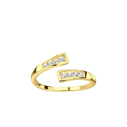 Wholesale Sterling Silver Opened Toe Ring - JD8213
