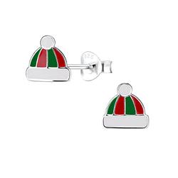 Wholesale Sterling Silver Hat Ear Studs - JD8442