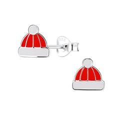 Wholesale Sterling Silver Hat Ear Studs - JD8441