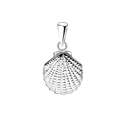Wholesale Sterling Silver Shell Pendant - JD8345