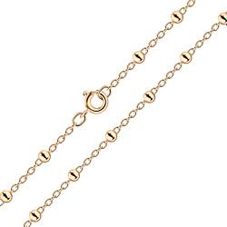Wholesale 45cm Sterling Silver Satellite Necklace - JD8473