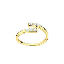 Wholesale Sterling Silver Opened Toe Ring - JD8566