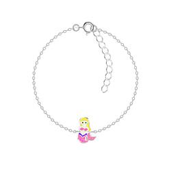 Wholesale Sterling Silver Mermaid Bracelet - JD7552