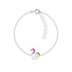 Wholesale Sterling Silver Unicorn Bracelet - JD8685