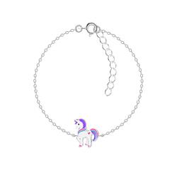 Wholesale Sterling Silver Unicorn Bracelet - JD7377
