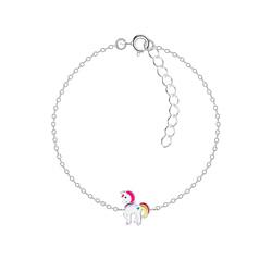Wholesale Sterling Silver Unicorn Bracelet - JD8783