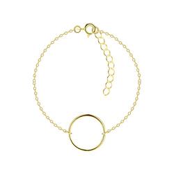 Wholesale Sterling Silver Circle Bracelet - JD8804