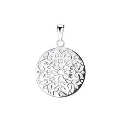 Wholesale Sterling Silver Filigree Pendant - JD9289