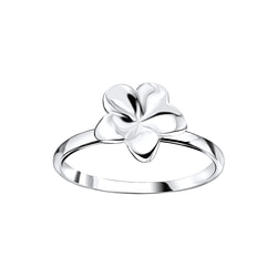 Wholesale Sterling Silver Flower Ring - JD8350
