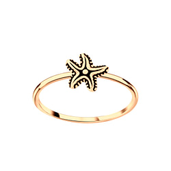 Wholesale Sterling Silver Starfish Ring - JD5648